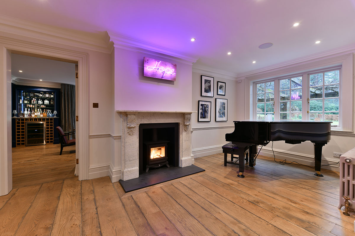 Music room  haslemere