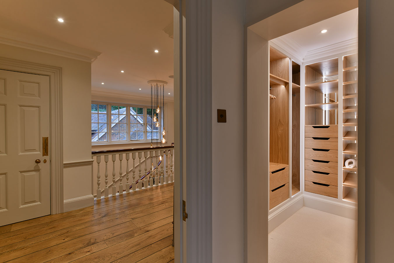 Walk in wardrobe haslemere