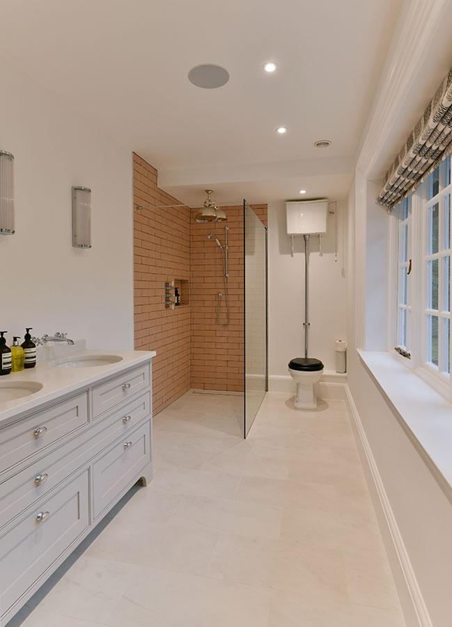 Walk in shower haslemere