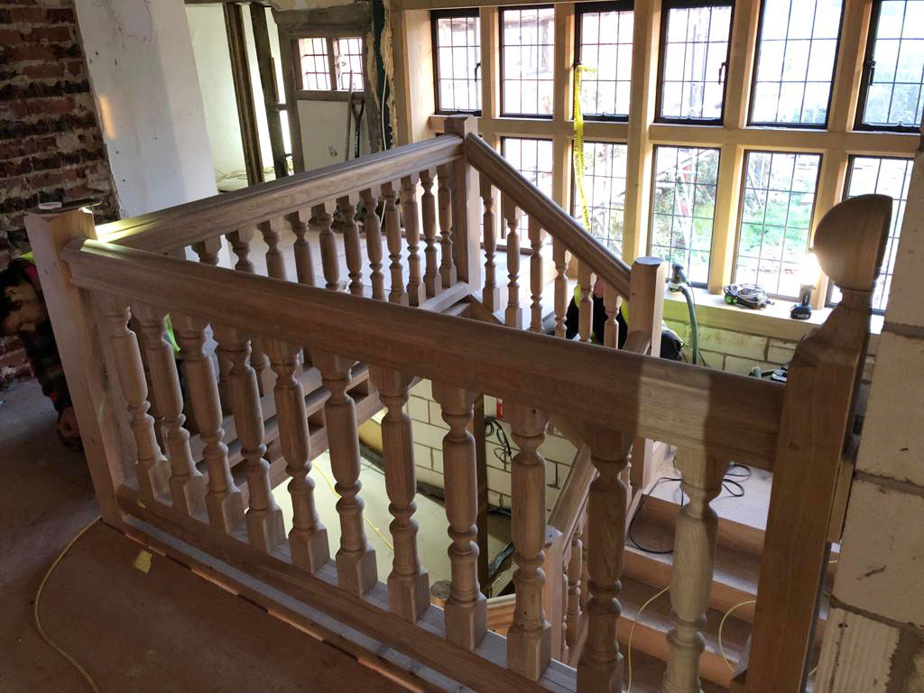 Beautiful stair case haslemere