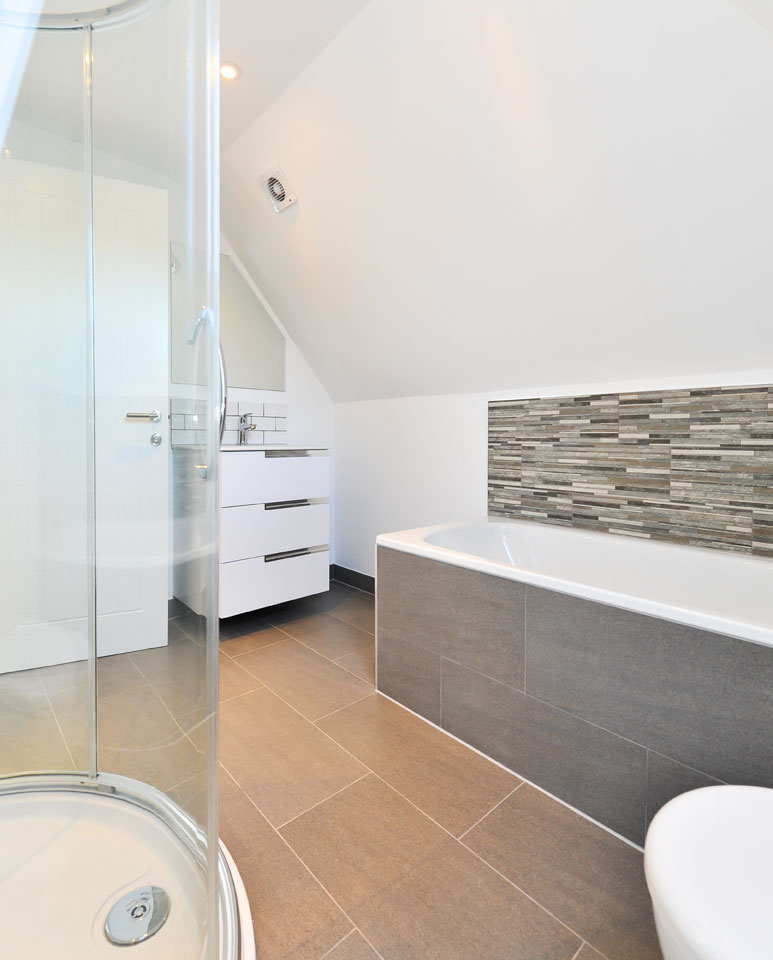 modern Hampshire bathroom